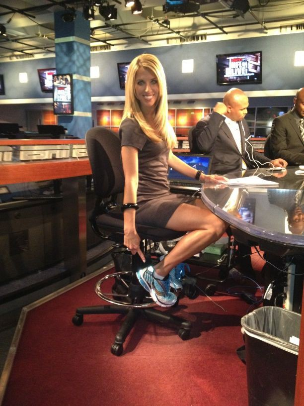 I Think ESPNs Sara Walsh Is Hot  Ride The Pine