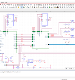 schematic capture is the first step of the eda electronic design automation cycle it involves using a schematic editor to sketch a circuit diagram which  [ 1600 x 900 Pixel ]