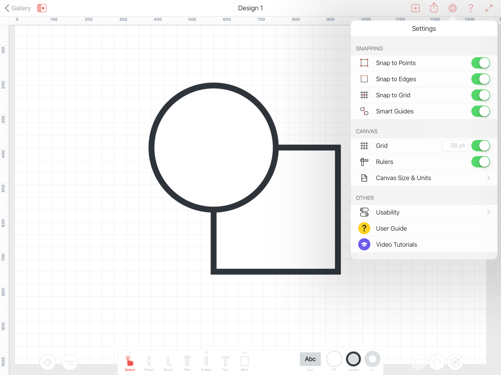 Does the perfect vector editor for iPad exist?