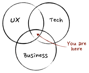 Product Owner, Product Manager, UX Designer, Business