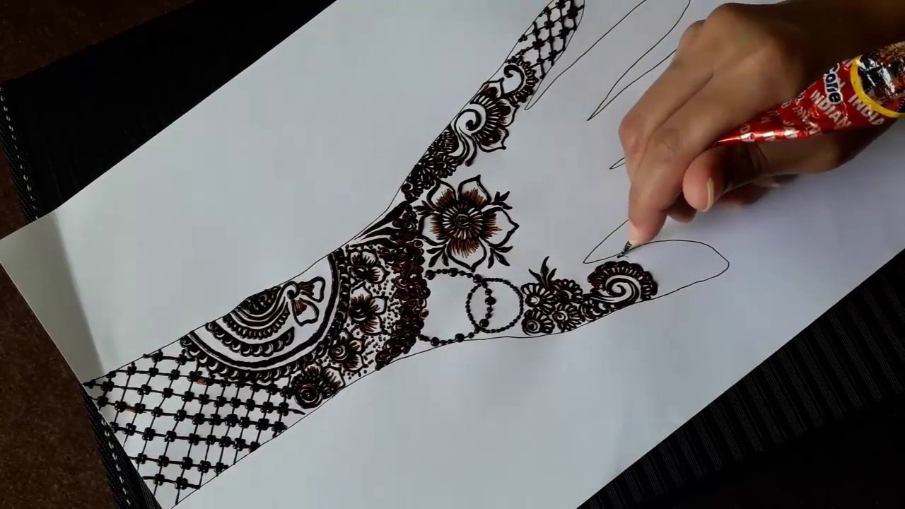 Mehandi Designs 2018 Back Hand