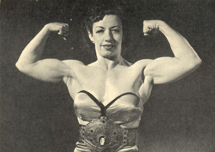 Mildred Burke, pioneering female wrestler
