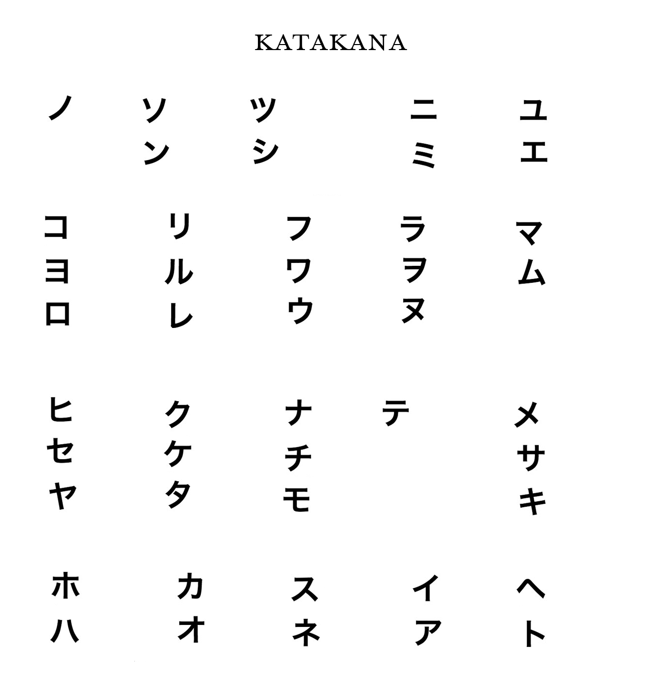 Learning To Read Amp Write Kana In Two Weeks Rfong Medium