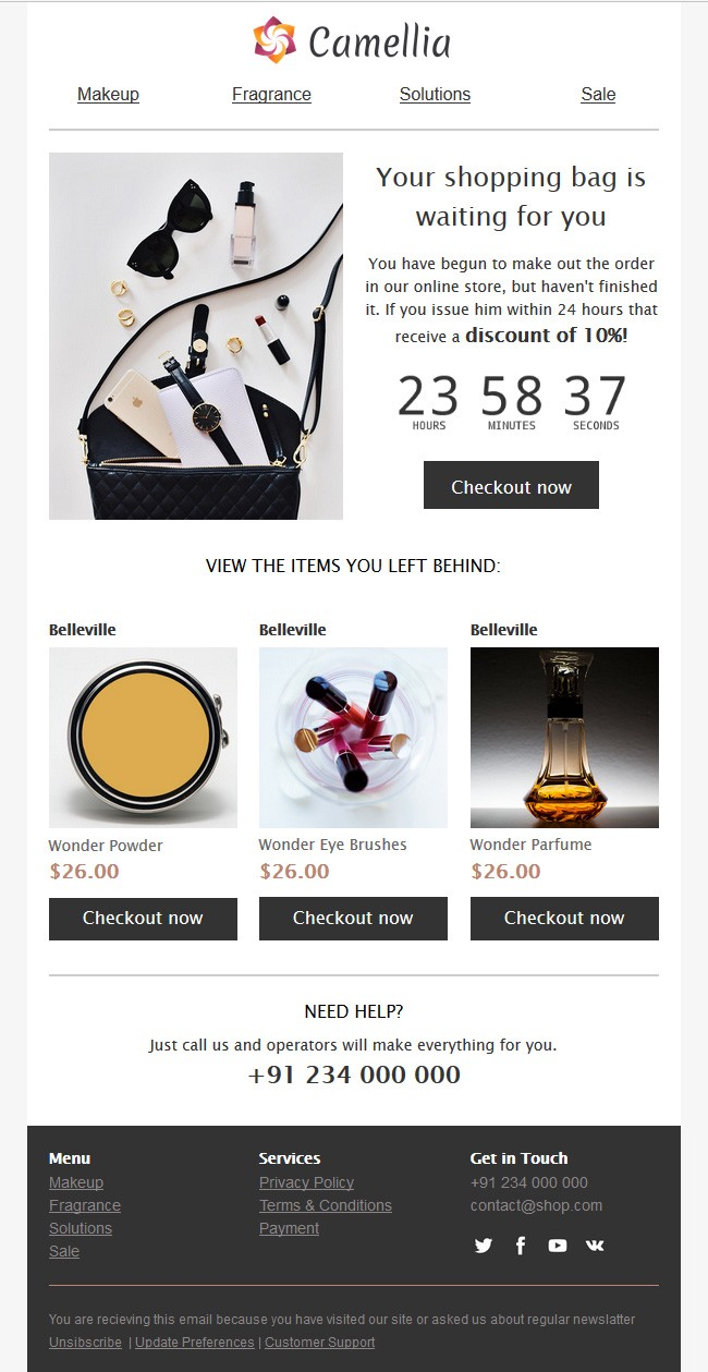 16 Best Email Design Examples – UX Planet