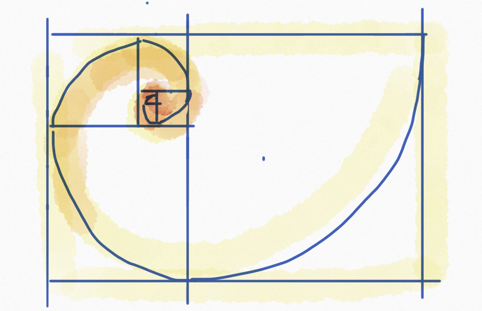 hight resolution of golden ratio in layout design