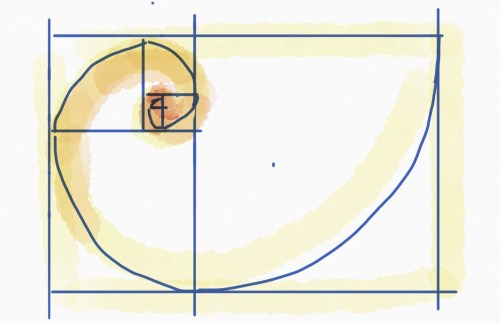 small resolution of golden ratio in layout design