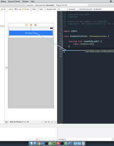 When the link is complete you should see something like this added to code editor also how build  realtime chart in ios  freecodecamp rh mediumeecodecamp