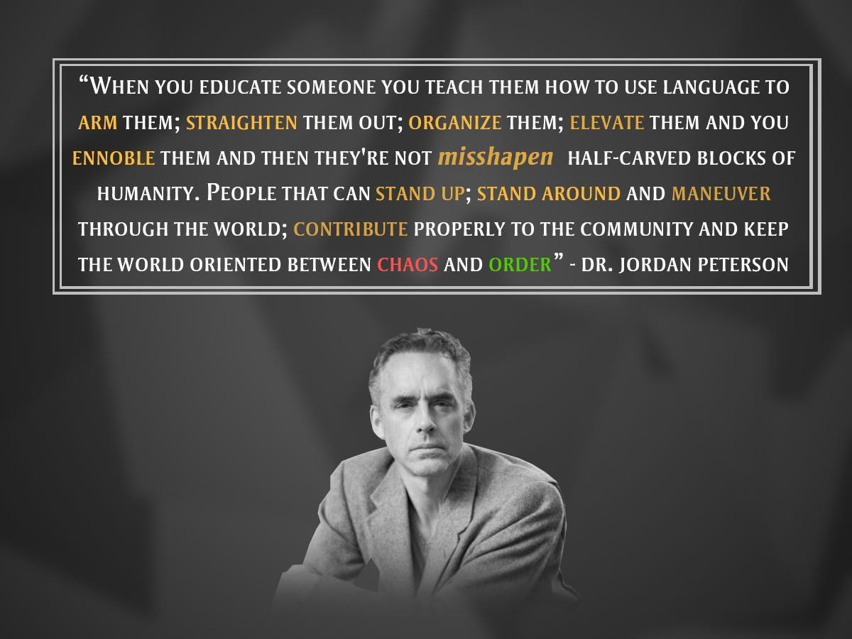 Jordan Peterson Wallpaper Quote The Anti Progressive Philosophy Of Jordan Peterson Jakob