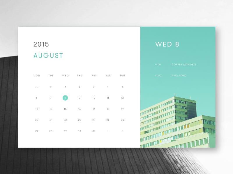 Desain Kalender Meja Elegan - Desain Terbaru Rumah Modern ...