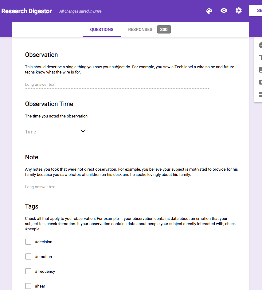 Organizing UX Research With Google Forms and Sheets