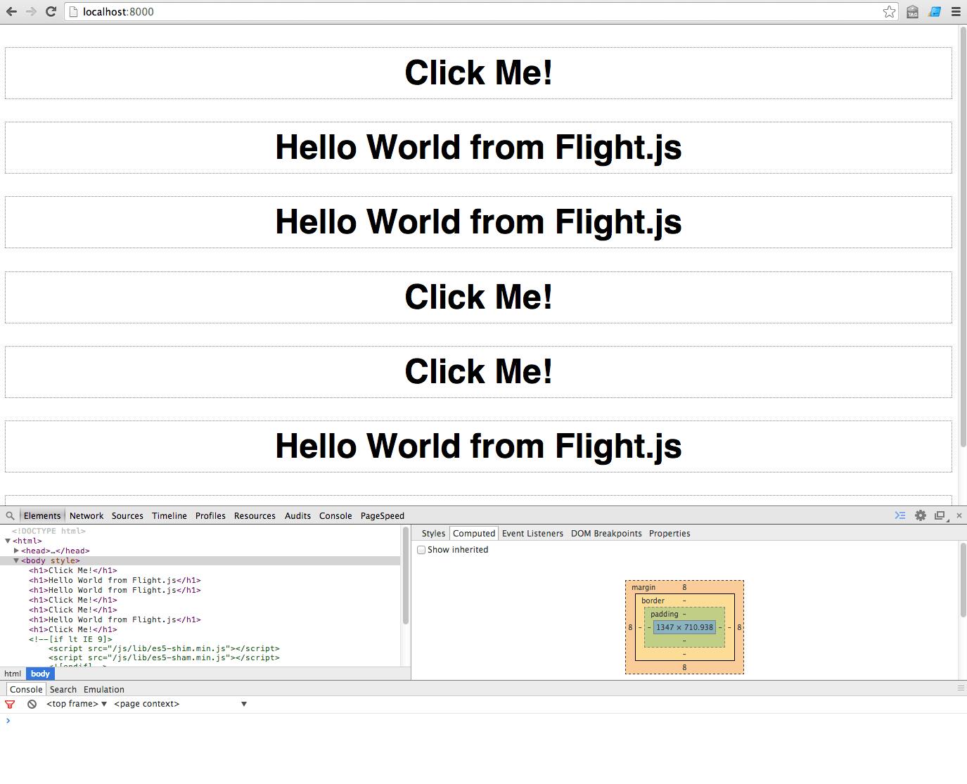 A Flight.js 'Hello World' – Stefan Ritter
