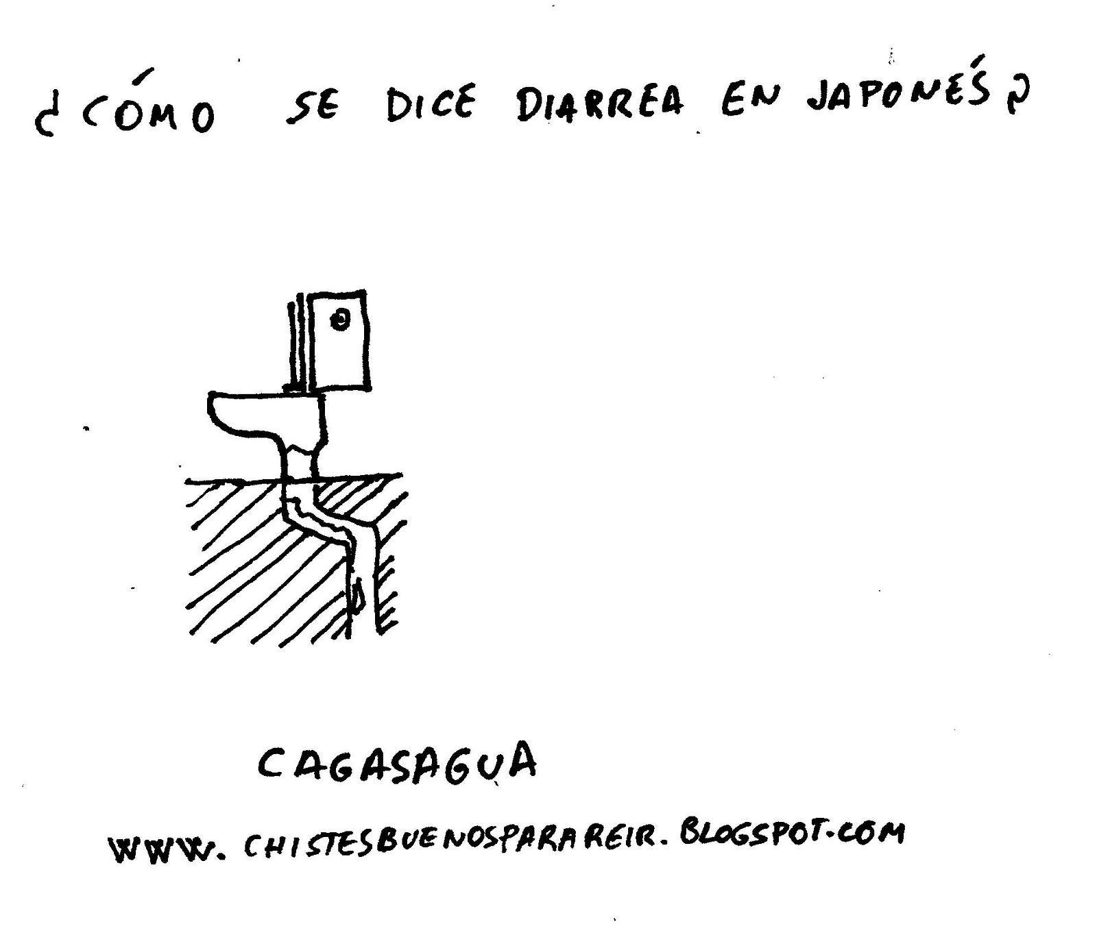 Chiste de cmo se dice diarrea en japons  Carlos