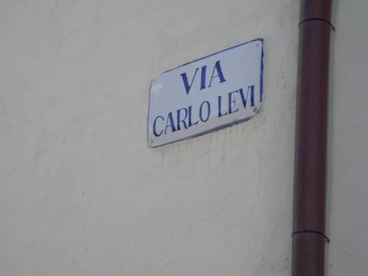 Street sign Aliano