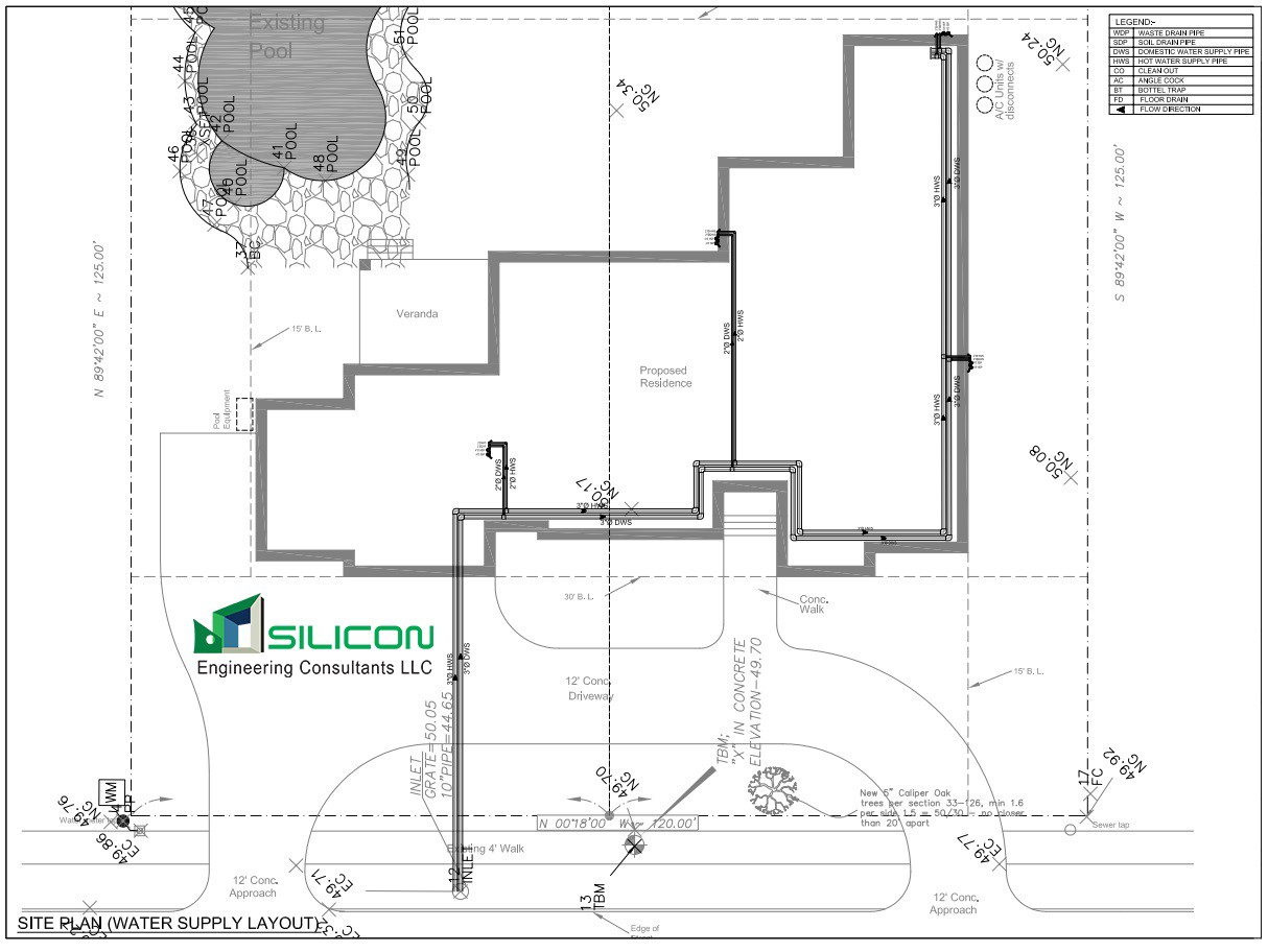 Highly Experienced Plumbing Piping CAD Engineers and Designers