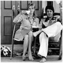 Paul Linda McCartney and Wife