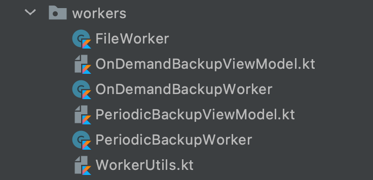Workers in theApp