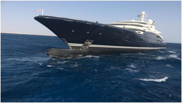 Mohammed Bin Salmans 500 Million Serene Yacht Bow Up On