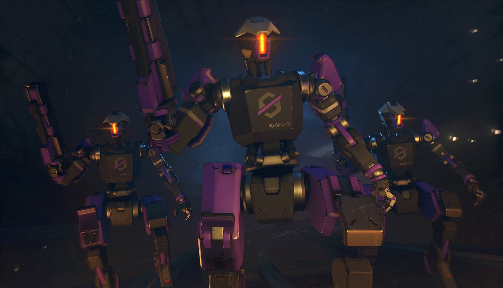 Overwatch Wallpaper Cute Sprays Overwatch Uprising Null Sector Highpoly Models