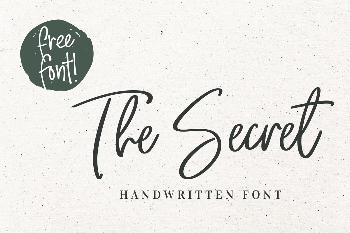 100 Beautiful Free Handwriting Fonts To Download In