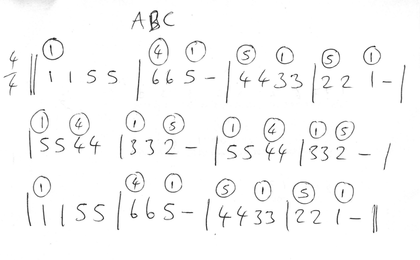 The Case for Numerical Music Notation. Part 3: The