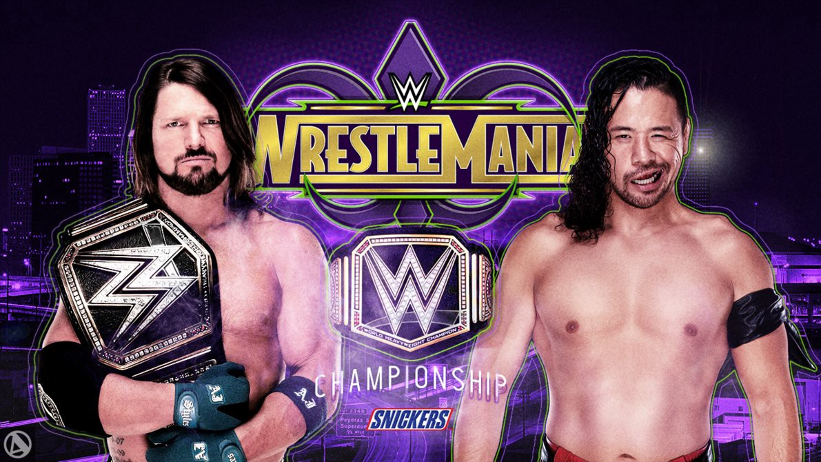 Aj styles defeated Shinsuke