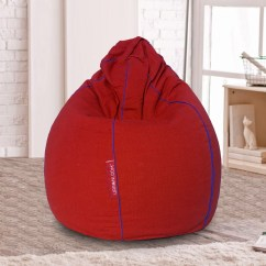 What Size Bean Bag Chair Do I Need Cooling Gel Pad For How Select The Of A Urbanloom Medium Classic Teardrop Design In Single Color Image Courtesy Www