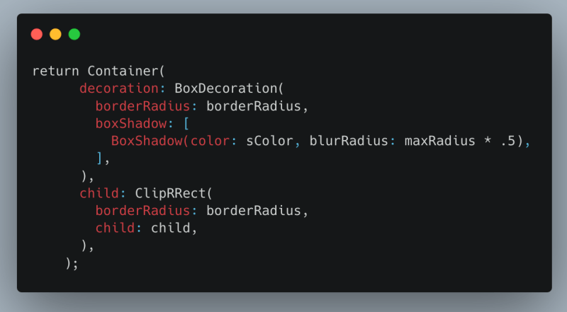 RoundedShadow custom widget….