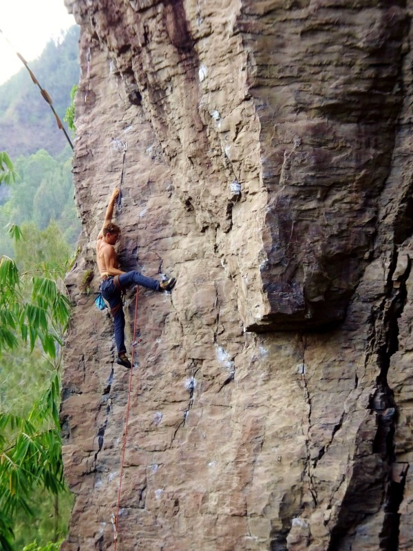 Rock Climbing In Bali Adventure Veins Medium