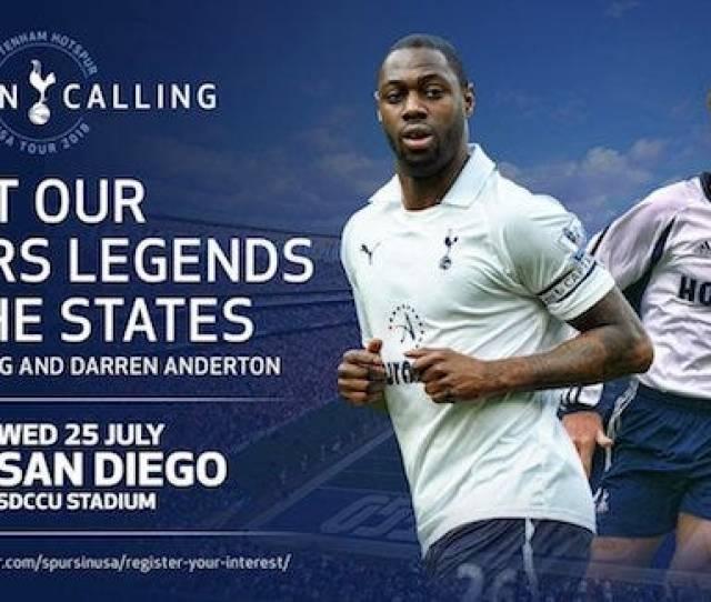Legends Ledley King Darren Anderton Will Appear In San Diego La Minneapolis