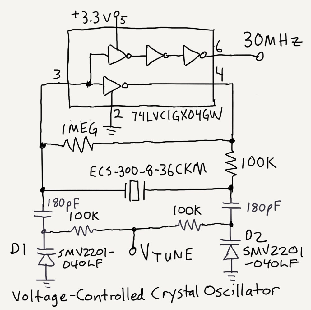 medium resolution of a diode that is reverse biased has some capacitance that varies with voltage some diodes are designed to do this in a predictable way
