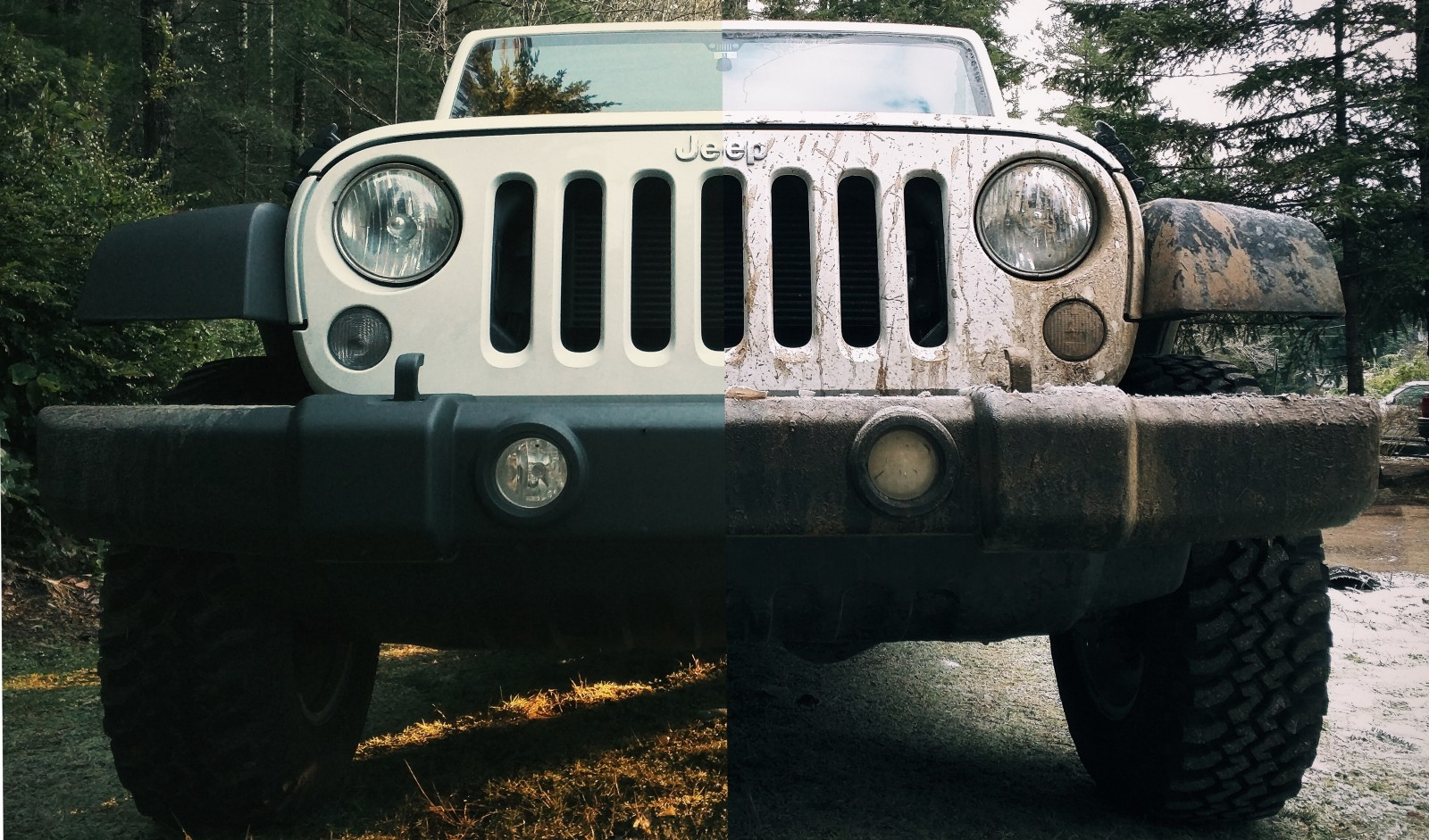hight resolution of  rugged and utilitarian are synonymous with jeep as are mud and dirt