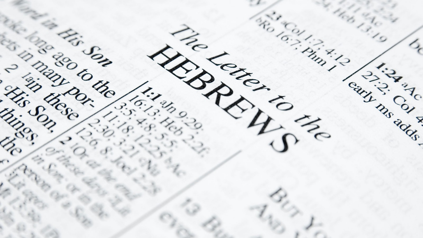 The Letter to the Hebrews, Part 4: Faith and Endurance