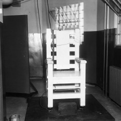Death By Electric Chair Video Acrylic Arm This Landmark Supreme Court Case Outlawed The