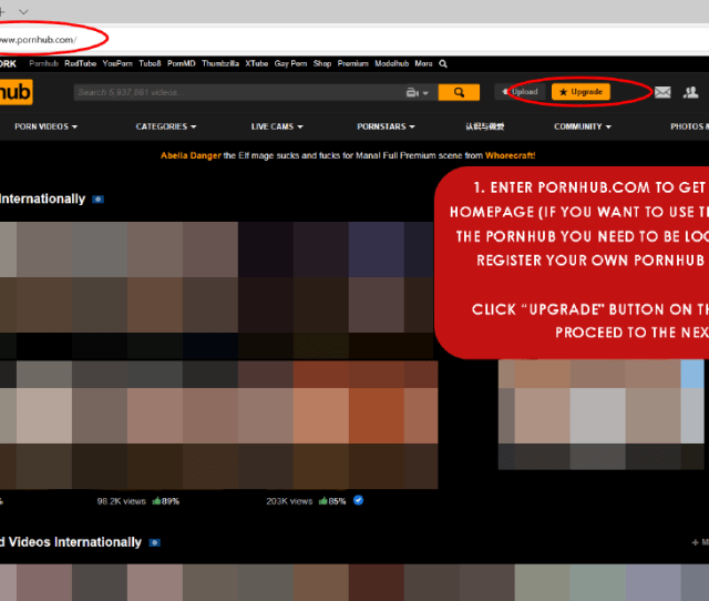 The Pornhub Homepage If You Want To Use Trx As A Payment In The Pornhub You Need To Be Logged In So Please Register Your Own Pornhub Account First