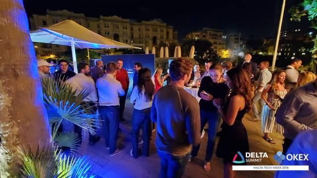 DELTA Summit OKEx Malta Tech Week—Pre Summit Networking Event