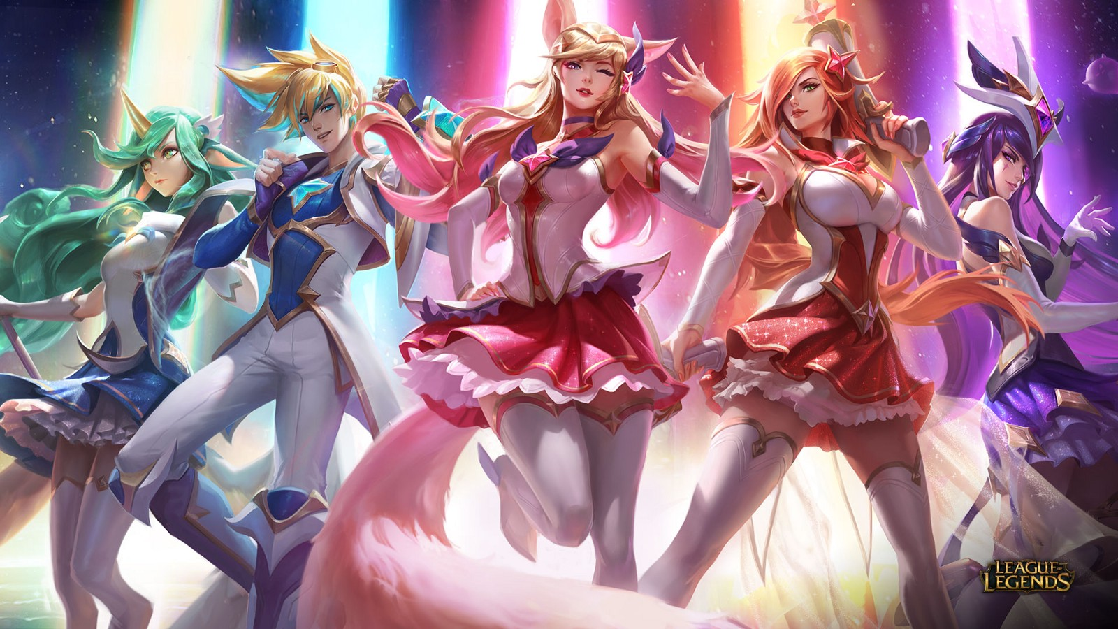 League of Legends: Star Guardian Skins Now Available