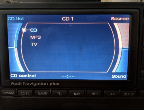 small resolution of audi navigation plus wiring