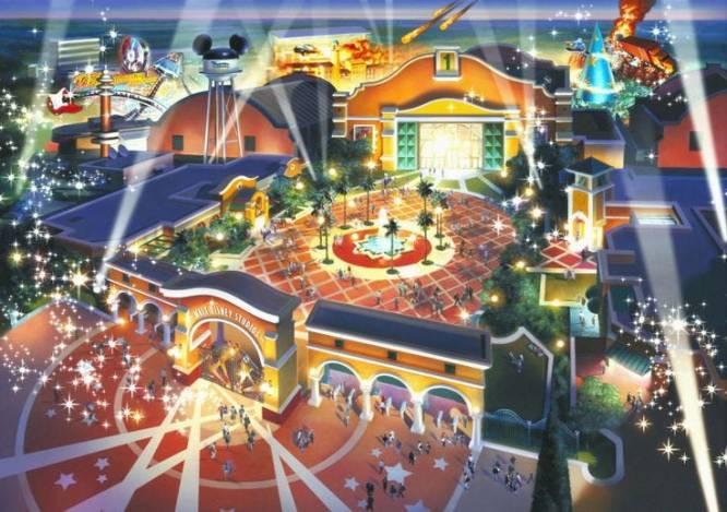 Walt Disney Studios Concept Art