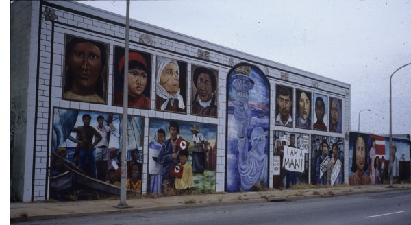 Immigration and Street Art Murals