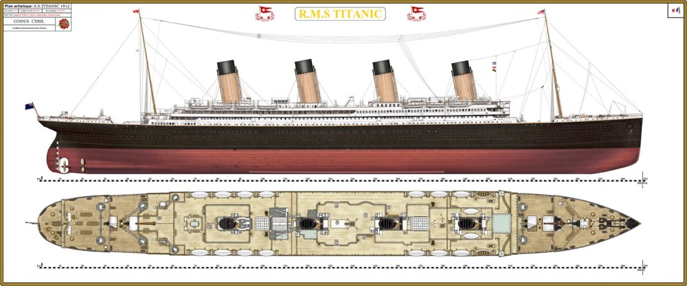 medium resolution of the titanic was built by the harland and wolff shipyard in belfast thomas andrews her architect died in the disaster