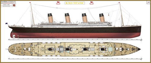 small resolution of the titanic was built by the harland and wolff shipyard in belfast thomas andrews her architect died in the disaster