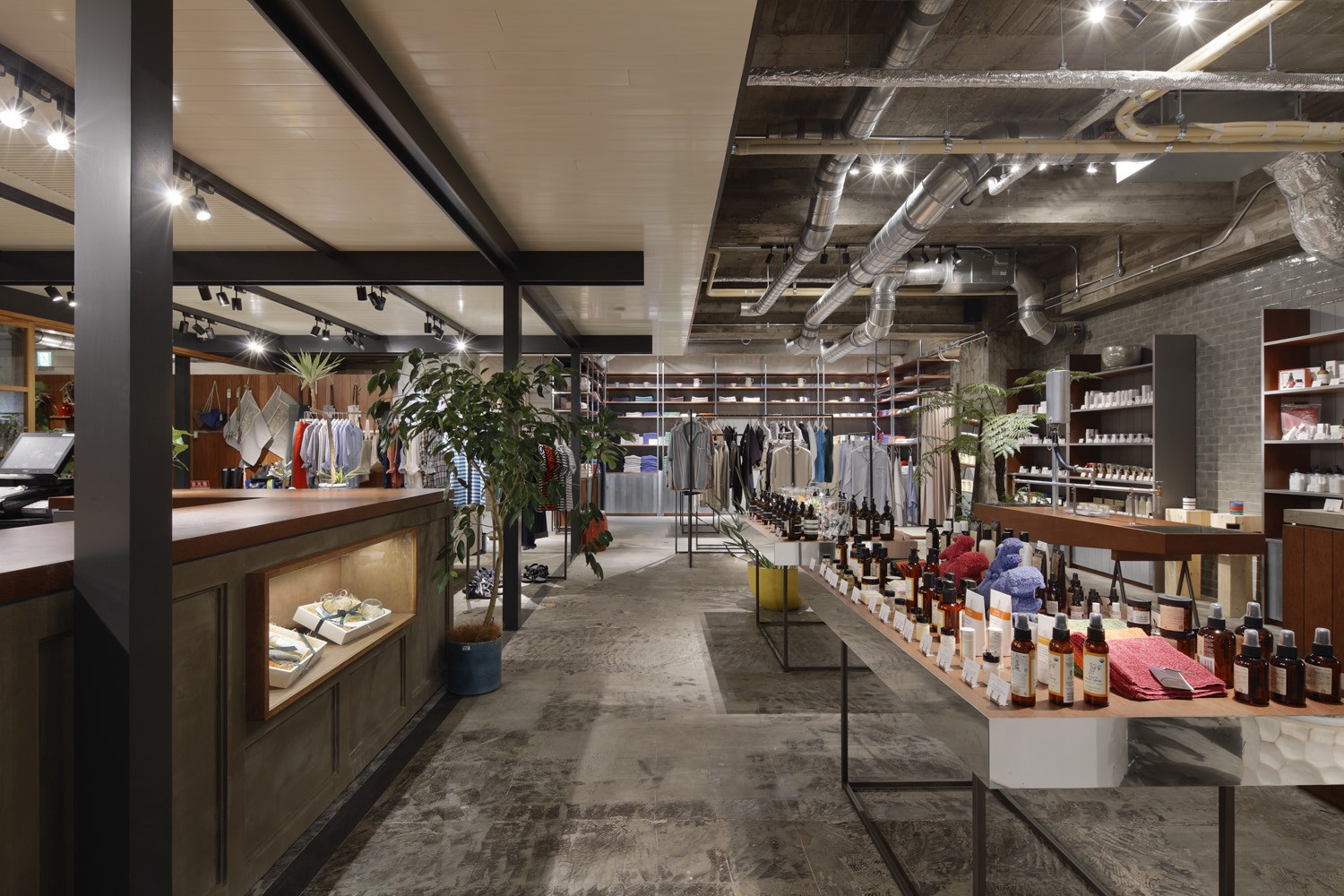 BIOTOP Osaka  Lifestyle shop designed not only the part