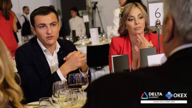 DELTA Summit OKEx Malta Tech Week-Awards Ceremony and Gala Dinner