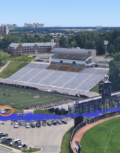 And the orange circle is tunnel down to field for visitors gravity pulls floodwaters lower ground waldo also highlights of stadium turning into  pool  free on saturday rh medium