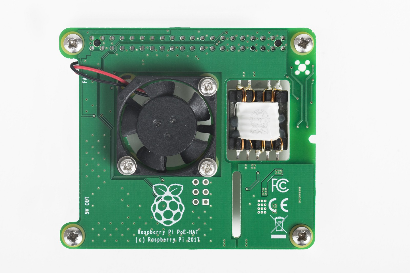 hight resolution of the new raspberry pi poe hat