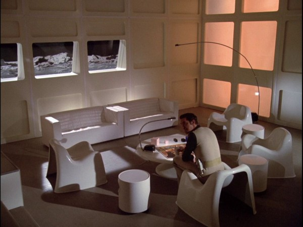 Space 1999 Moonbase Alpha Interior