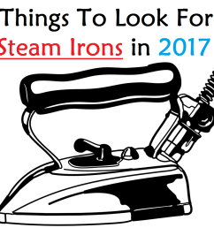 if you are shopping for a new iron in 2017 you are likely to be bombarded by lots of options it could feel overwhelming trying to figure out what features  [ 1494 x 868 Pixel ]