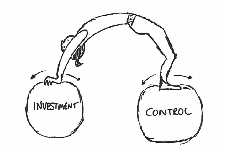 Corporate venture building dilemma: investment vs. control