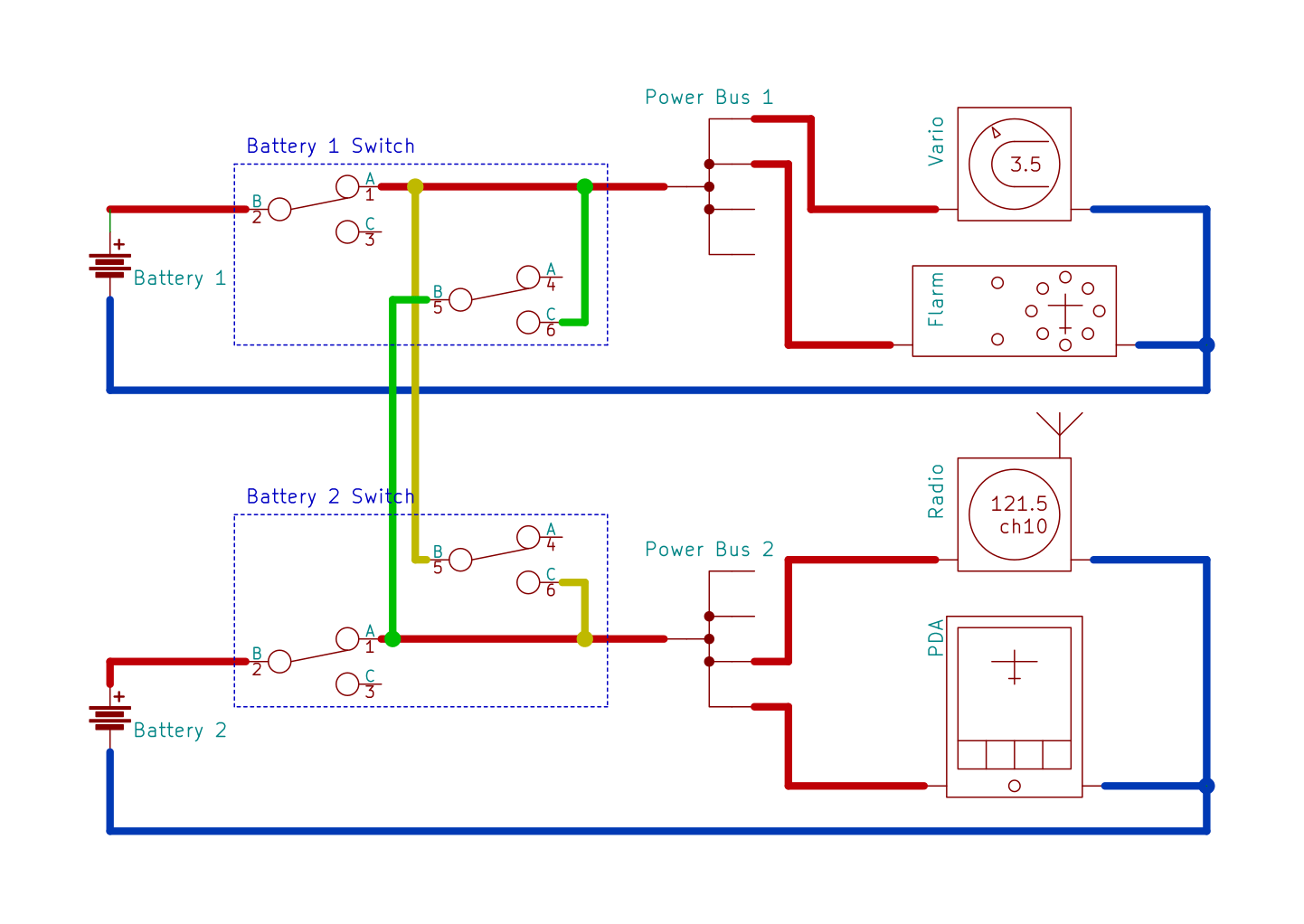 hight resolution of commuted circuit wiring