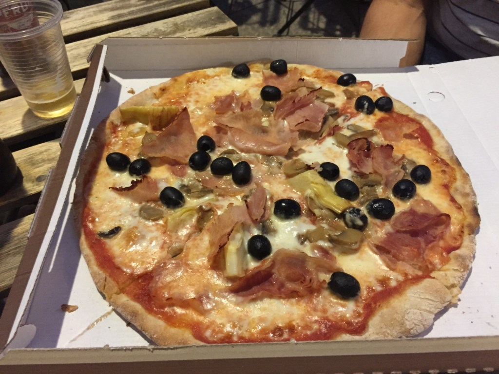 Gluten free pizza